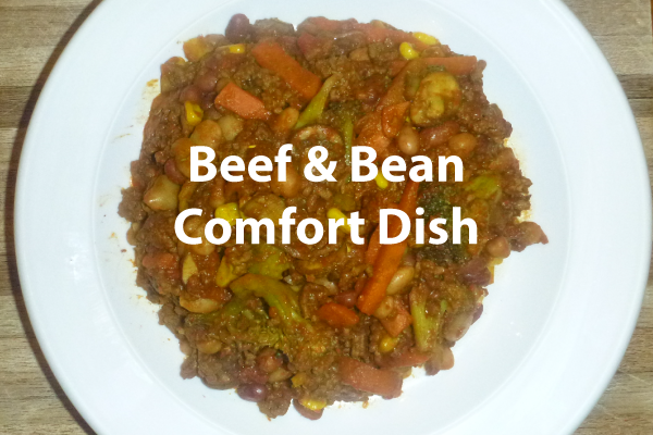 RECIPE: Quick and Tasty, Beef and Bean Comfort Dish